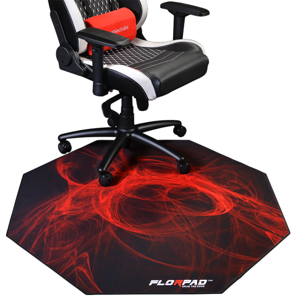 Chaise et tapis de Gaming